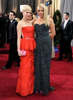Michelle Williams + Busy Phillips