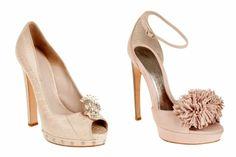 Alexander McQueen Fall 2012 Shoes