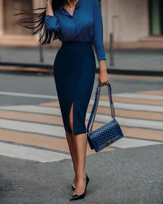 99 Pretty Office Fashion Ideas For Women In 2019 - Business Attire Business Casual Outfits, Professional Outfits, Chic Outfits, Fashion Outfits, Fashion Ideas, Business Professional, Dress Fashion, Fall Outfits, Summer Outfits