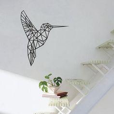 What's not to love? Geometric Vinyl H... Cutsie Vinyl Wall Decor http://cutsievinyl.com/products/geometric-vinyl-hummingbird-wall-sticker?utm_campaign=social_autopilot&utm_source=pin&utm_medium=pin