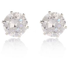 River Island Silver tone sparkly gem stud earrings (105 NOK) ❤ liked on Polyvore featuring jewelry, earrings, accessories, studs, studded jewelry, silvertone jewelry, gemstone earrings, silver tone jewelry and stud earrings