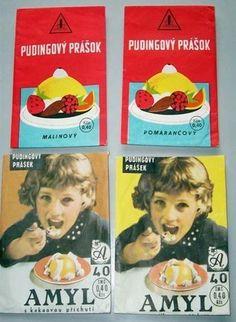 Pudingové prášky - Pudingové prášky Childhood Memories, Retro, Style, Photos, Historia, Nostalgia, Swag, Retro Illustration, Childhood
