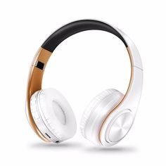 Earbuds With Mic, Headphones With Microphone, Bluetooth Headphones, Bass Headphones, Ipod, White Headphones, Over Ear Headphones, Headphones Online, Hifi Stereo