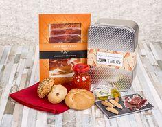 Encontrarás un regalo muy original para amigos que amen el jamón. Haz que superen las emergencias con un buen trozo de este producto.