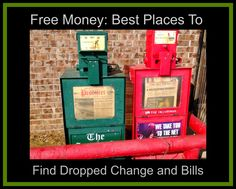 Free Money--Where To Find Lost Change