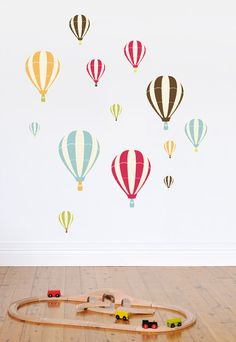 Denim Baby: Hot Air Balloon Wall Decals Plus More!