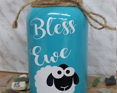 Custom Handmade Gifts and Crafts by NautilusKustoms Vinyl Crafts, Jar Crafts, Bottle Crafts, Easter Crafts, Mason Jar Gifts, Mason Jar Diy, Mason Jar Bathroom, Mason Jar Projects, Jar Art