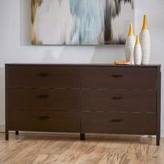 Zipcode™ Design Ashlyn 6 Drawer Dresser & Reviews   Wayfair