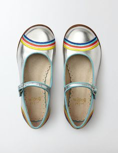 Rainbow Mary Janes | Boden | kids style