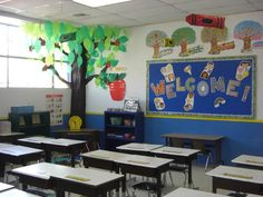 Tree Decoration Classroom ideas