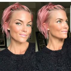 40 Best Hairstyles for Thin Hair Haircuts for Women With: 40 Best Hairstyles For Thin Hair Haircuts For Women With. 40 Best Hairstyles For Thin Hair Haircuts For Women With. Pink Short Hair, Braids For Short Hair, Pink Hair, Short Hair Cuts, Haircuts For Thin Fine Hair, Bobs For Thin Hair, Cool Haircuts, Cool Hairstyles, Shaved Hairstyles