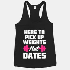 "This black racerback tank states ""Yeah, I'm attractive; but I'm also serious about my #workout"" #gym #fashion"