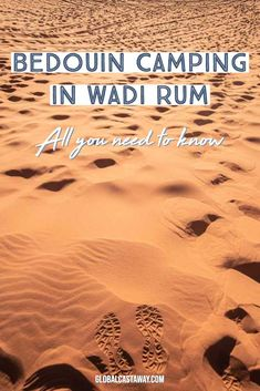 Wadi Rum Camping - All You Need to Know edition) Find out all about the Wadi Rum camps. Check the Ultimate Wadi Rum, Jordan Guide and find out how to get there and what to see in Wadi Rum. Eastern Travel, Asia Travel, Wadi Rum Jordan, Jordan Travel, Israel Travel, Day Tours, Plan Your Trip, Travel Guides, Travel Tips