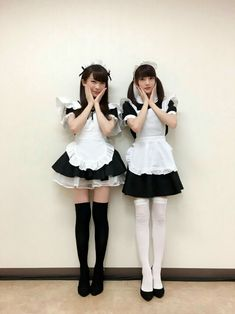 But hey, seems the Japanese got the lead in posing maids Maid Cosplay, Cute Cosplay, Cosplay Outfits, Cosplay Girls, Kawaii Fashion, Cute Fashion, Girl Fashion, Maid Outfit, Maid Dress
