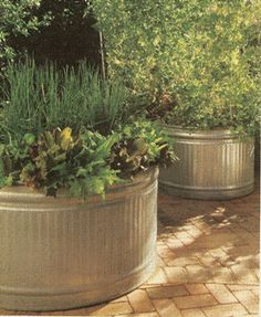 Think Outside The Box The Galvanized Animal Troughs Used