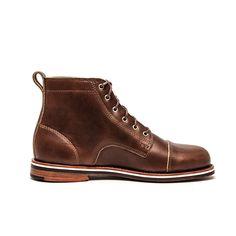 Helm - Brown Blucher Boot