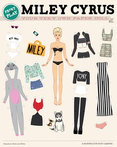 Half-Naked Miley Cyrus Needs Your Help Getting Dressed... this is too funny. WHERES THE HANNAH MONTANA OUTFIT?