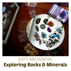 Reggio activities for toddlers and preschoolers Exploring rocks and minerals An Everyday Story Exploring Rocks and Minerals