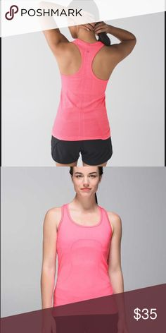 5d8f8274 Shop Women's lululemon athletica Pink size 6 Tank Tops at a discounted  price at Poshmark.