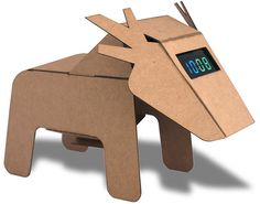 DIY Revolution: Eduardo Alessi's New Recycled Cardboard Animals