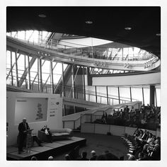 Rt Hon Vince Cable holds the floor #designsummit12 #london #design - @designcouncil