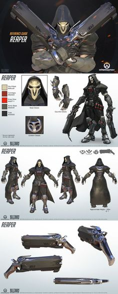 Overwatch - Reaper Reference Guide