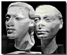 young akhenaten nefertiti busts Sometimes I think Akhenaten looks like Michael…