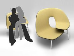 Loveseat Literalism: Two-Person Chair for Cuddling Couples | Designs & Ideas on Dornob