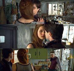 Harry Potter Fan Art: Harry and Ginny Gina Harry Potter, Harry E Gina, Ron And Harry, Mundo Harry Potter, Harry Potter Films, Harry Potter Fan Art, James Potter, Pansy Harry Potter, Harry James