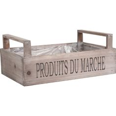 Homes on Trend Wooden Crate French Farm Shop Market Produce Lined Trug Trough Container Wood Box Kitchen Pantry Fruit Vegetable Garden Herb Salad Planter Storage Solution Home Decor Country Kitchen Accessories, Fruit Holder, Vegetable Storage, Apple Crates, Deco Nature, Wedding Venue Decorations, Farm Shop, Glass Candlesticks, Vintage Storage