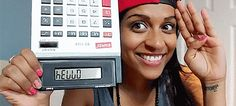 """If you write '5318008' and flip your calculator upside down at her, she'll get it. #TeamDorkster 