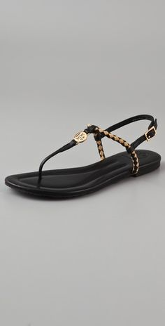 tory burch aine flat sandals.