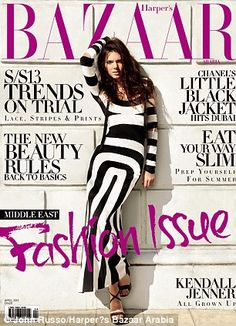 Can't wait for Harper's Bazaar ! This is the gorge cover.