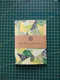 Notebook green pattern handbound and handprinted Notebook, Cover, Books, Etsy, Green Pattern, Craft Gifts, Handmade, Libros, Book