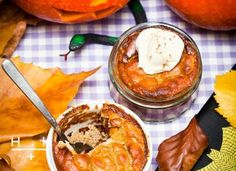 Pumpkin pie puddings #TheArtofEatingWell