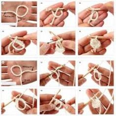 An easy tutorial for righties and lefties :) , The magic loop trick. An easy tutorial for righties and lefties :) , The magic loop trick. An easy tutorial for righties and lefties :) , Crochet Magic Circle, Magic Ring Crochet, Crochet Circles, Simply Crochet, Easy Crochet, Free Crochet, Free Knitting, Magic Loop Knitting, Finger Knitting