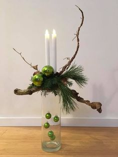 Christmas- Weihnachtsdeko Everything archives – adette christmas decoration - Christmas Flower Arrangements, Christmas Flowers, Noel Christmas, Rustic Christmas, Simple Christmas, Christmas Wreaths, Christmas Crafts, Christmas Ornaments, Silver Christmas Decorations