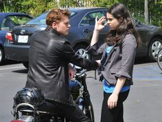 Switched at Birth on air) - Bay e Emmett Emmett Switched At Birth, Emmett And Bay, Dwayne And Whitley, Sean Berdy, Connor And Oliver, You Ruined Me, Achilles And Patroclus, Vanessa Marano, Percy And Annabeth