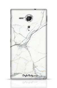 Carrara Marble Sony Xperia SP Phone Case