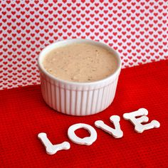 One taste of this savory and spicy love dip and you will fall in love! A great dip for a Valentine's Day appetizer. Copycat Central Market Love Dip recipe