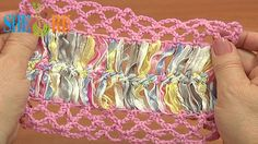 Crochet Mesh On Basic Strip Tutorial 33 Hairpin Crochet