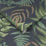 Midsummer Fern Navy Wallpaper - GrahamBrownUK
