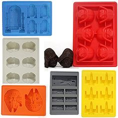 Joyoldelf Diseño de la guerra de las Galaxias estilo moldes de silicona bandeja para cubitos de hielo-chocolate - juego de 6Diseño de la guerra de las Galaxias Joyoldelf estilo moldes de silicona bandeja para cubitos de hielo-chocolate - juego de 6 Joyoldelf http://www.amazon.es/dp/B00XN5YFCS/ref=cm_sw_r_pi_dp_KqIZwb1VZY1T4