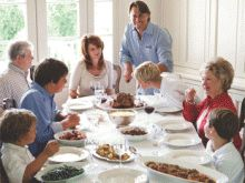 Acclaimed chef and dad John Besh cooks up a recipe for easy homemade family meals on the run.