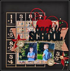 Back to School *G45* - Scrapbook.com