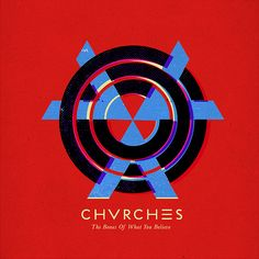 chvrches - cover design by Jamie McKelvie I don't think I've stopped listening to this since I brought it