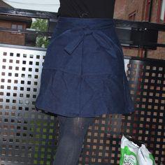 Miette skirt by Tilly Buttons. Made by me! Waist Skirt, High Waisted Skirt, Tilly And The Buttons, Skirts, Pattern, Fashion, High Waist Skirt, Moda, La Mode