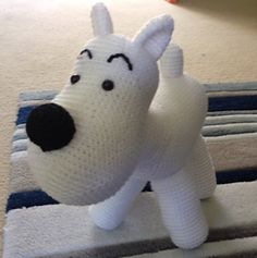 Ravelry: Snowy the Dog, inspired by Tin Tin pattern by Melanie Loy
