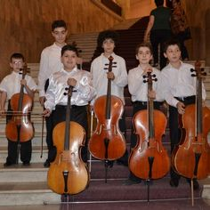 JM Armenia: 9th Aram Khachaturian International Competition - This year's competition focus is the cello and young cellists took part in the opening concert (photo: Erit Am)