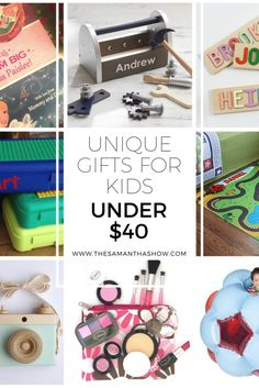 Unique Gifts for kids under $40 - The Samantha Show